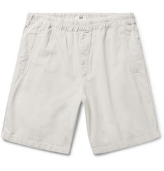 Folk The Assembly Garment-Dyed Cotton-Ripstop Shorts
