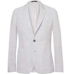 Paul Smith Blue Soho Slim-Fit Linen-Blend Suit Jacket
