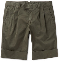 Boglioli Stretch-Cotton Shorts