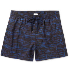 Boglioli Mid-Length Printed Swim Shorts