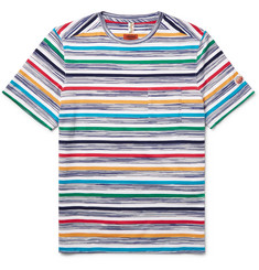 Missoni Striped Knitted Cotton T-Shirt