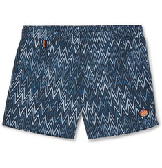 Missoni Slim-Fit Short-Length Printed Swim Shorts