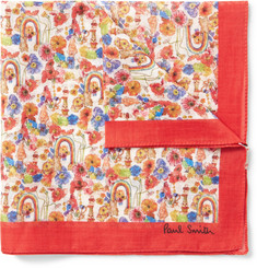 Paul Smith - Printed Cotton Pocket Square