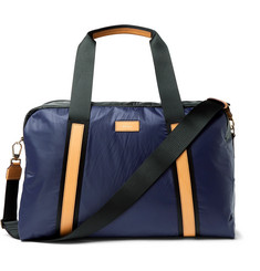 Paul Smith Leather-Trimmed Two-Tone Shell Holdall