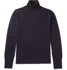 Officine Generale Nina Slim-Fit Merino Wool Rollneck Sweater