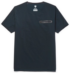 Descente S.I.O. Slim-Fit Seamless Tech-Shell T-Shirt