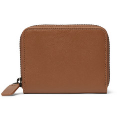 Common Projects Zip-Around Cross-Grain Leather Wallet
