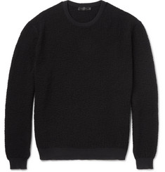 Calvin Klein Collection Raiger Textured-Knit Wool Sweater