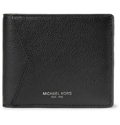 Michael Kors Full-Grain Leather Billfold Wallet
