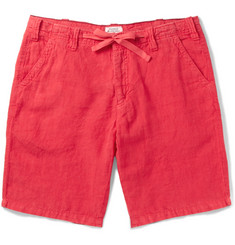 Hartford - Slim-Fit Drawstring Linen Shorts