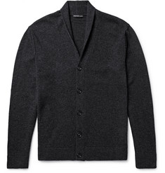James Perse Shawl-Collar Cashmere Cardigan