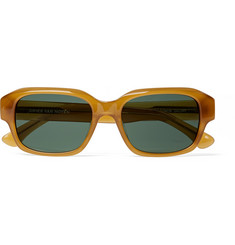 Dries Van Noten Square-Frame Polished-Acetate Sunglasses