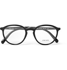 Prada Round-Frame Acetate Optical Glasses