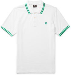 PS by Paul Smith Slim-Fit Contrast-Tipped Cotton-Piqué Polo Shirt