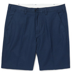 PS by Paul Smith Slim-Fit Linen and Cotton-Blend Twill Shorts