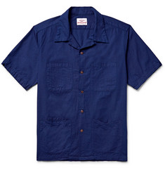 Battenwear Camp-Collar Cotton Shirt