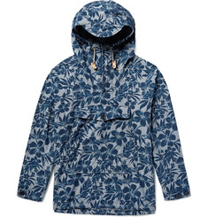 Battenwear Scout Floral-Print Cotton Oxford Anorak