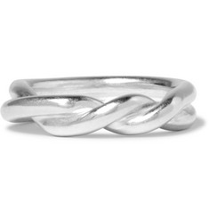 Maison Margiela Twisted Sterling Silver Ring