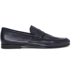 Harrys of London James Leather Penny Loafers