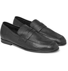 Harrys of London - Edward Textured-Leather Penny Loafers