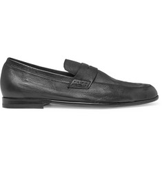 Harrys of London Edward Textured-Leather Penny Loafers