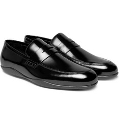 Harrys of London Downing 2 Polished-Leather Penny Loafers