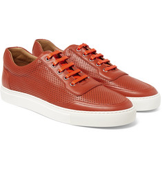 Harrys of London - Mr Jones 2 Perforated Leather Sneakers