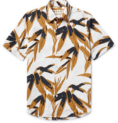 Marni Printed Cotton-Poplin Shirt