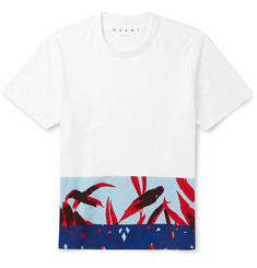 Marni Printed Cotton-Jersey T-Shirt