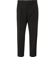Marni Tapered Wool-Twill Trousers
