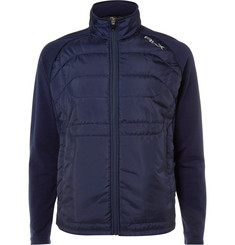 RLX Ralph Lauren Shell-Panelled Jersey Golf Jacket