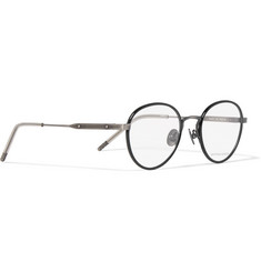 Bottega Veneta - Round-Frame Acetate and Titanium Optical Glasses