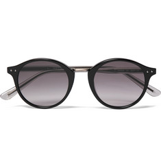 Bottega Veneta - Round-Frame Acetate and Metal Sunglasses