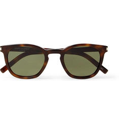 Saint Laurent - D-Frame Tortoiseshell Acetate Sunglasses