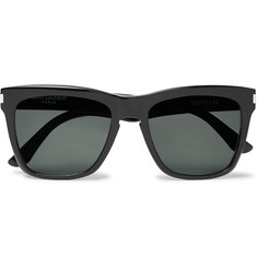 Saint Laurent Devon D-Frame Acetate Sunglasses