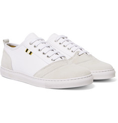 Aprix - Suede and Canvas Sneakers