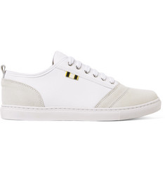 Aprix Suede and Canvas Sneakers