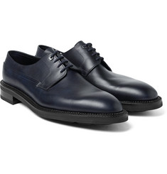 John Lobb Croft Panelled Leather Oxford Shoes