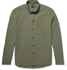 Albam Button-Down Collar Cotton Shirt