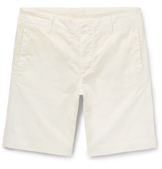 Albam Cadet Stretch-Cotton Shorts