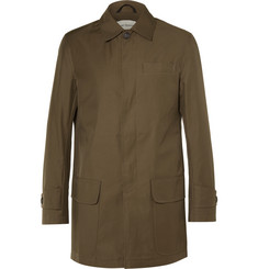 Oliver Spencer Cotton-Blend Canvas Car Coat