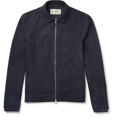 Oliver Spencer Suede Blouson Jacket