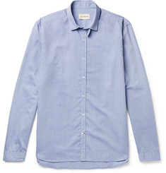 Oliver Spencer - Clerkenwell Tab-Collar Cotton Oxford Shirt