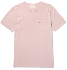 Oliver Spencer Envelope Slim-Fit Mélange Cotton-Jersey T-Shirt