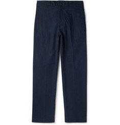 Beams Plus Slim-Fit Cotton-Blend Duck Canvas Trousers