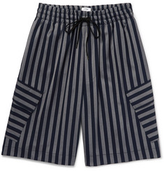 CMMN SWDN Cody Striped Woven Shorts