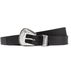 CMMN SWDN Colt Elongated Leather Belt