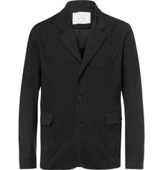 By Walid Black Edward Linen Blazer