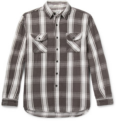 OrSlow - Oversized Checked Cotton-Twill Overshirt