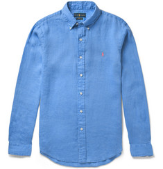 Polo Ralph Lauren - Slim-Fit Button-Down Collar Linen Shirt